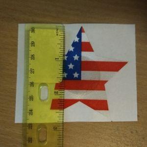 Accessories - AMERICAN FLAG PASTIES - 5pr - USA - Rave Festival